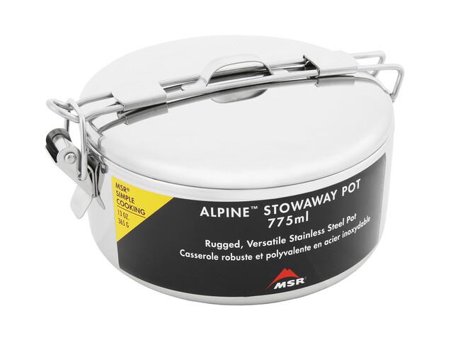 MSR Alpine Stowaway kookpot topf, 775 ml grijs